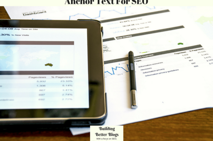 Anchor Text For SEO