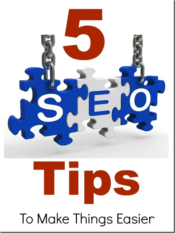 Chains holding up puzzle pieces that spell SEO.